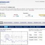 Meningkatkan Alexa Rank untuk Website / Blog