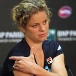 Cedera bahu, Clijsters mundur