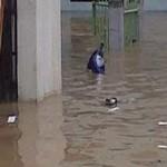 Sungai meluap, Medan dilanda banjir