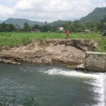BANJIR PONOROGO : Tanggul Sungai Maguan Jebol, Sekolah dan Permukiman Warga Kebanjiran