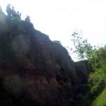 Tanah tegalan di Jatibatur, Gemolong, Sragen ambles, petani kebingungan