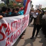 10 Demonstran diamankan
