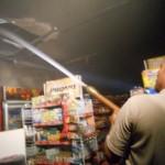 Alfamart Toroh terbakar