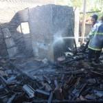 Rumah warga Masaran ludes terbakar