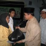 SMPN 1 RSBI Wonogiri berikan bantuan
