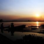 MEMPESONA -- Keindahan alam Waduk Cengklik, Boyolali, menjadikannya kawasan wisata air yang menarik dikunjungi. (JIBI/SOLOPOS/Burhan Aris Nugraha)