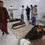 Jenazah Khadafi akhirnya dimakamkan secara rahasia
