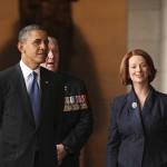Dokumen rahasia rincian jadwal  kegiatan Obama ditemukan di selokan