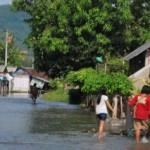 Ilustrasi banjir luapan air Sungai Dengkeng (Dok/JIBI/Solopos)