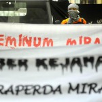 Ilustrasi penolakan Raperda Miras (Dok/JIBI)