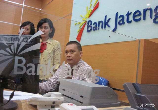 Aktivitas perbankan di Bank Jateng. (JIBI/Solopos/Dok.)