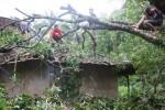 ANGIN KENCANG BOYOLALI : Rumah Warga Cepogo Roboh Diterjang Puting Beliung, Penghuni Tertimpa Atap