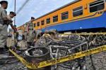 KEBAKARAN: Paket Terbakar, Nyaris Meledak di Gerbong Barang KA