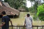 Ilustrasi banjir di Wonogiri. Kondisi banjir di Gunungan, Desa Wonodadi, Pracimantoro, Wonogiri, saat banjir 14 Maret 2012. (JIBI/Solopos/Trianto Hery Suryono)