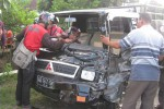 LAKA BERUNTUN: Libatkan Tiga Mobil di Jalur Boyolali-Solo, Dua Orang Luka