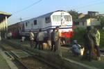 KERETA ANJLOK: Jalur Kereta Api Palembang-Lampung Normal Lagi