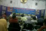 Uji Kompetensi wartawan di Monumen Pers Solo, Rabu (28/3/2012). (Anik Sulistyawati/JIBI/SOLOPOS)