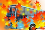KECELAKAAN TAIWAN : Bus Terbakar Saat Menuju Bandara, 26 Orang Tewas