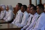 calon pegawai negeri sipil (CPNS) yang telah lolos seleksi dan segear mengikuti diklat prajabatan