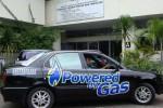 KONVERSI GAS -- Mobil berbahan bakar gas yang menggunakan konverter gas hasil pengembangan Fakultas Teknik Industri UGM. (ugm.ac.id)