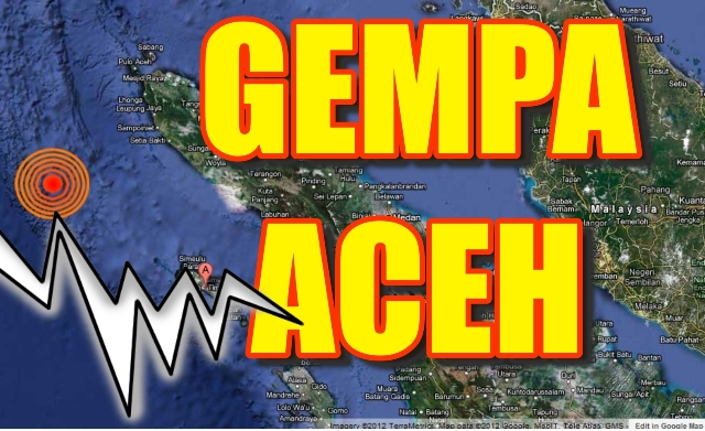 FOTO VIDEO GEMPA ACEH 6,0 SR 10/01/2013