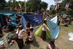 Ilustrasi tenda kemah (Dok/Solopos)