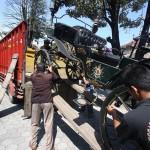PERNIKAHAN PUTRI JOKOWI : 7 Kereta dan 14 Kuda Diboyong Keluarga Presiden dari Solo ke Medan