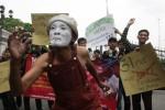 PILRES 2014 : Ribuan Buruh Rokok Kudus Ancam Boikot Pilres. Ada Apa?