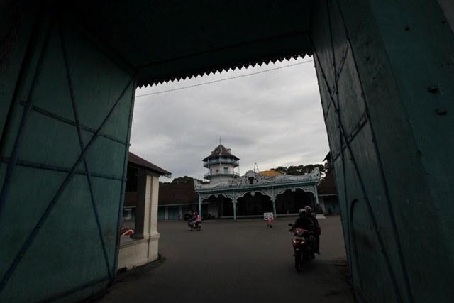 Pintu Gerbang Kamandungan Utara Keraton Surakarta (Agoes Rudianto/JIBI/SOLOPOS)