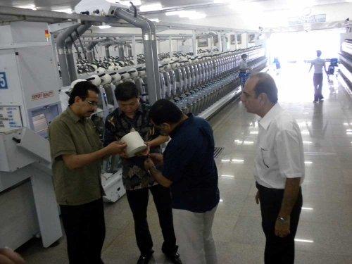 Ilustrasi unit produksi PT Sritex, Sukoharjo (Oriza Vilosa/JIBI/Solopos)