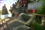 PERUSAKAN MAKAM: Puluhan Batu Nisan Dirusak