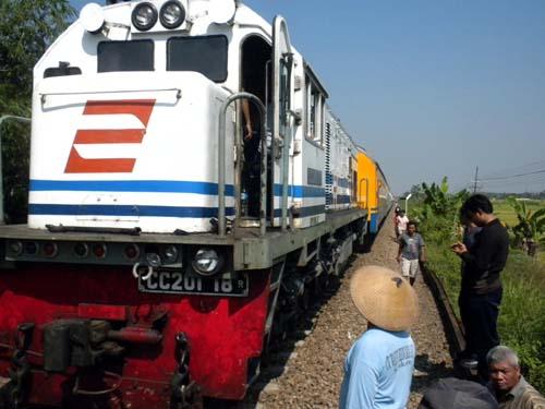 Ilustrasi kereta api (JIBI/Solopos/Dok)
