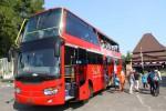WISATA SOLO : Bus Tingkat Werkudara, Cara Asyik Nikmati Kota Solo…