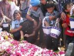 Suasana pemakaman ayor Pnb Heri Setiawan di Taman Makam Pahlawan Giripeni, Wates, Kulonprogo Jumat (22/6) siang. (JIBI/Harian Jogja/MG Noviarizal Fernandez)