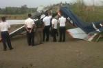 Pesawat Cessna yang jatuh di Kuningan, Jabar (JIBI/SOLOPOS/detikcom)