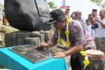 BUPATI BOYOLALI, Seno Samodro meresmikan bumi perkemahan Wonopotro di Dukuh Glagahombo, Desa Blumbang, Kecamatan Klego, Rabu (11/7/2012).  (JIBI/SOLOPOS/Farida Trisnaningtyas)