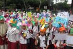 RAMADAN: 1.700 Siswa Sekolah Islam Terpadu, Ikuti Pawai Ramadan