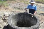 Sebuah sumur asin di Desa Ngaglik, Kecamatan Sambi, Boyolali. Sumur itu kini tidak dipergunakan lagi. Foto diambil akhir pekan lalu. (Farida Trisnaningtyas/JIBI/SOLOPOS)