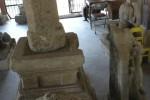 Rumah Arca di Taman Kridanggo Boyolali dijadikan Balai Pelestarian Penginggalan Purbakala (BP3) Jateng sebagai tempat pengumpulan temuan beda purbakala dari berbagai wilayah Boyolali. Foto diambil baru-baru ini. (Oriza Vilosa/JIBI/SOLOPOS)