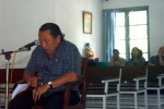 SIDANG LANJUTAN ROBBY SUMAMPOUW