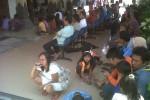 MUDIK LEBARAN: Ratusan Keluarga Jemput TKI Mudik di Bandara