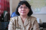 Manajer BOS, Supraptiningsih (JIBI/SOLOPOS/Eni Widiastuti)