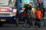 Ilustrasi arus mudik di terminal bus di Jakarta (JIBI/Solopos/Dok.)