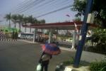 SPBU Mojosongo yang terletak di jalur menuju Semarang dari arah Solo di mulut pintu masuk Boyolali kota terlihat sepi, Sabtu (18/8/2012). (JIBI/SOLOPOS/Oriza Vilosa)