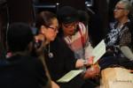 Komedian Nunung bersama July Jan Sambiran saat acara kumbokarnan di daerah Sumber, Solo, Rabu (22/8) malam. Pernikahan keduanya rencananya dilangsungkan Kamis (30/8) mendatang. (FOTO: Agoes Rudianto/JIBI/SOLOPOS)