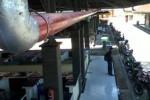ANTISIPASI KEBAKARAN: Pasar Cokro Dipasangi Pipa Hidrant