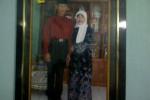 Bripka Dwi Data Subekti dan istri Niken (JIBI/SOLOPOS/Indah Septyaning W)