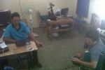 Pelayanan rekam data E-KTP di Kecamatan Simo, Boyolali sepi pengunjung, Rabu (22/8/2012). (Oriza Vilosa/JIBI/SOLOPOS)