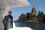 Vladimir Putin di salah satu yahct-nya. (Daily Mail)
