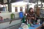 Sepi, Pedagang Kuliner Pasar Cokro Mengeluh